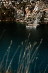 The Little Blue Lake, Mount Gambier.
