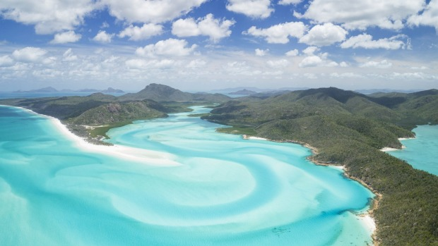 Sail the warm, clear waters around the 74 Whitsunday islands off northern Queensland.