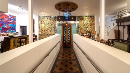 CIRCA 1928 is located in a former art deco bank.