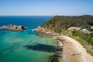 Davies Cottage overlooks Sugarloaf Bay – the beach is just a two-minute skip down the road – and surely has the best ...
