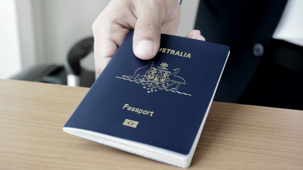 Australia's passport is great ... if you are allowed to use it.