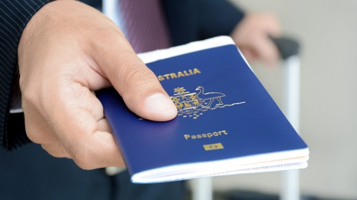 The number of passports issued by the Australian Passport Office plummeted by 60 per cent in 2020.