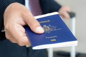 Only 57 per cent of Australians have a passport.