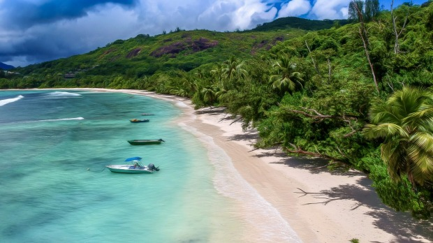 About 65 per cent of the Seychelles' economy is derived from tourism.