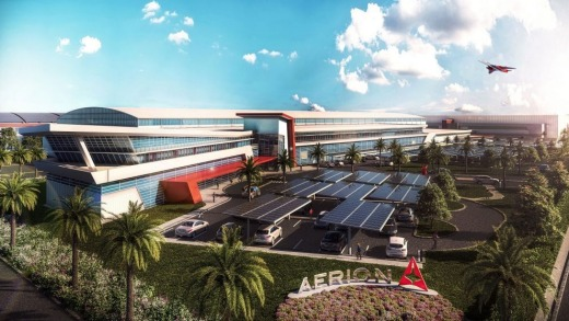 Aerion's planned headquarters in Melbourne, Florida.