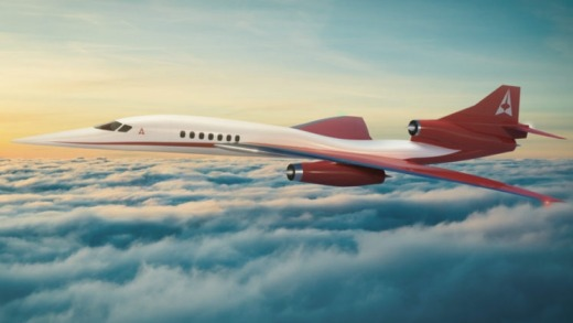 The AS2 would have flown at mach 1.4, or 1715 km/h. The company says the jet would carry between eight and 12 passengers ...