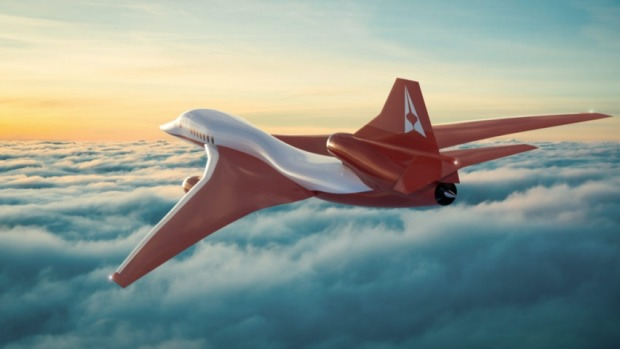 The AS2 will fly at mach 1.4, or 1715 km/h.