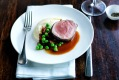 A beef dish on board a P&O cruise. Two tonnes of Australian red meat was typically ordered for a three-day cruise.