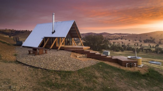Kimo Estate's luxury 'eco-huts' are booked out for the next 11 months.