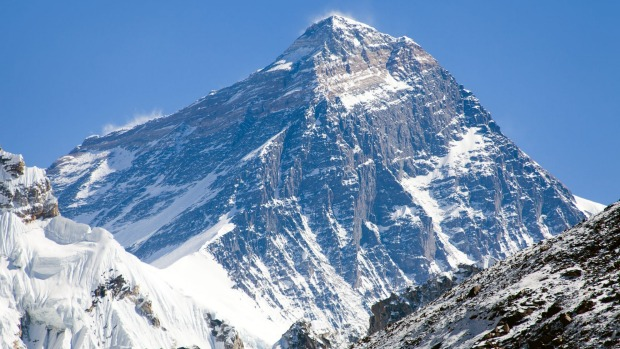 The highest point on Earth: Mount Everest