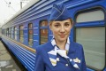A conductor on the Trans-Siberian express
