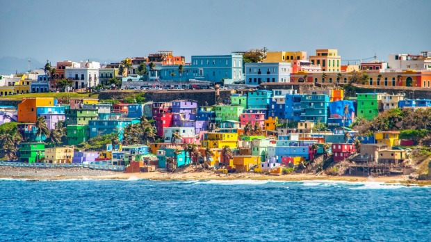Island life and colours in San Juan, Puerto Rico.