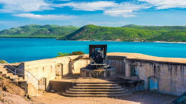 Green Hill Fort Thursday Island Torres Strait Island Group of Islands tra5-capeyorkcover Image for Traveller from Tourism Tropical North Queensland, pls note credit requirements