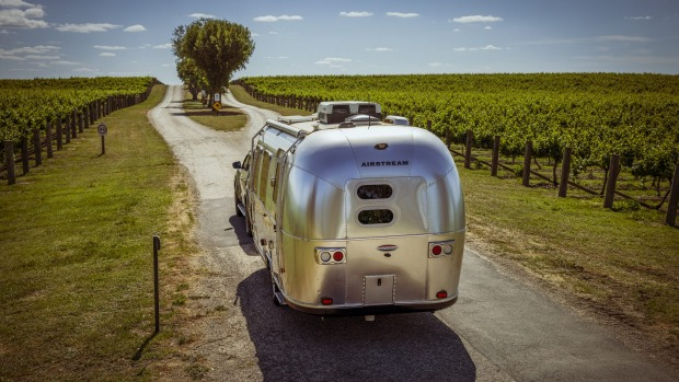 Mitchelton Estate in Nagambie has added seven new Airstream RVs for guests hankering for an outdoors experience with ...