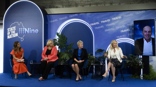 Travel industry leaders took part in Nine's 'State of the Nation - Travel' event at the Sydney Opera House on Wednesday.