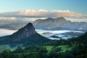 Take in the view of Mt Warning-Wollumbin, this hemisphere's largest shield volcano, set within a World Heritage-listed ...