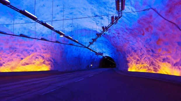 Hint: At 24.5 kilometres long, the longest road tunnel in the world is Laerdal Tunnel. But which country is it in?