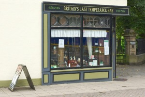 Britain's last original temperance bar has stood on Bank Street in the Lancashire mill town since 1899.