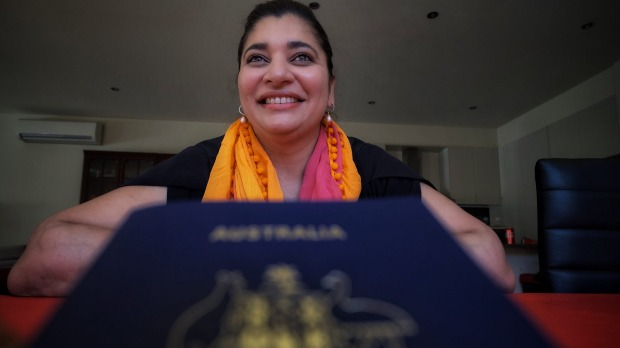 'Bizarre': Himanshi Munshaw Luhar was bemused to discover the Australian Passport Office had contacted her to remind her ...