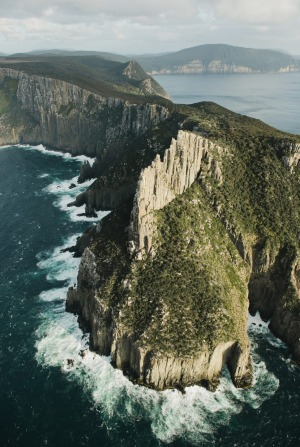 'The scariest cliff in the known universe', as it's known among rock climbers.
