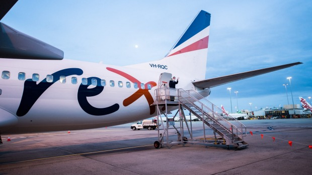 Rex, previously a regional airline, has launched on several key city-to-city routes in recent months.