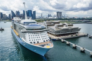 Quantum of the Seas has been sailing successful cruises in Singapore.