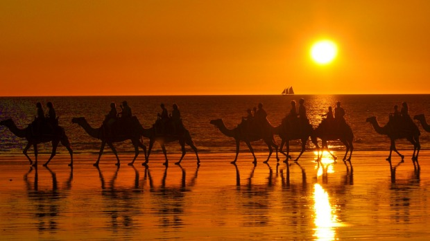 Cable Beach, Broome. A West Australian sunset is something to behold.
