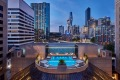 The riverfront Crowne Plaza Melbourne is one of the city hotels currently offering big savings.