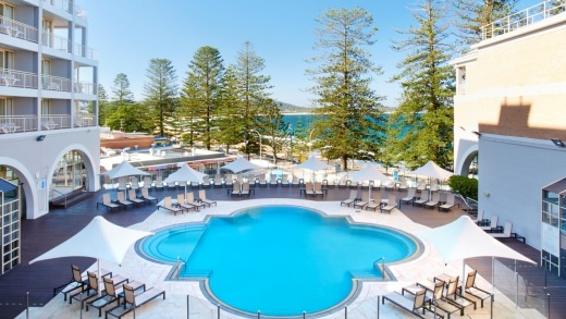A room at Crowne Plaza Terrigal will set you back $845 on Saturday night.