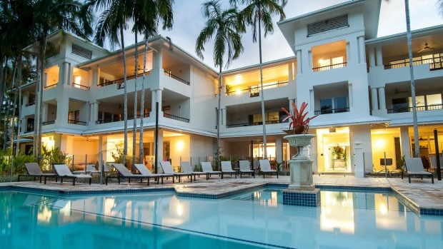 Port Douglas apartments, just back from the beach.