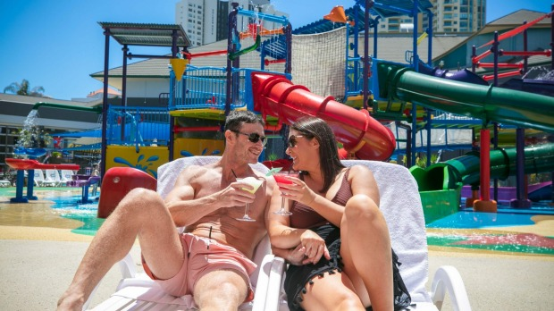 Unlimited use of the Kids' Zone Waterpark at Paradise Resort Gold Coast.