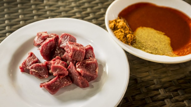 'Tere siga' in Ethiopia is large hunks of raw, fat-laced, room-temperature meat.