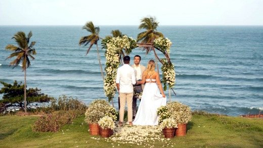 Overseas weddings were popular with brides, but often less popular with their guests.