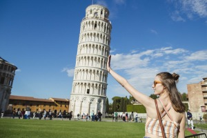 Why is it so? The Leaning Tower of Pisa.