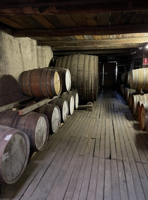 Best's old winery with removable floorboards.