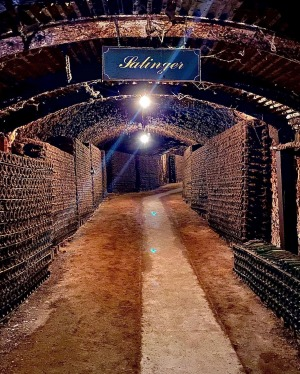 'The Drives' at Seppelt have 3km of underground cellars.