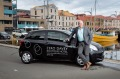 Tom Darke, general manager of Zero Davey in Hobart, says the boutique hotel has acquired a car for guests' use due to ...