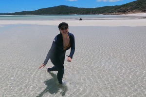 Paige Cullin, 21, from Melbourne took a trip to north Queensland after COVID-19 scuppered her plans for a second trip to ...