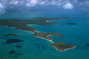 The Wessel Islands, a rugged, ribbon-like archipelago off the north-east tip of East Arnhem Land.