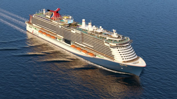 Carnival's Mardi Gras will easily be the largest in the cruise line's fleet, carrying 6630 passengers.