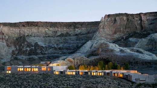 Amangiri is a luxury resort in the desert.
