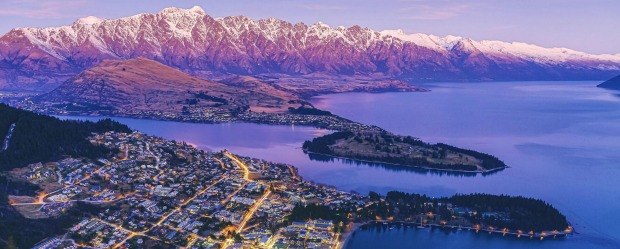 South Island highlight: Queenstown.
