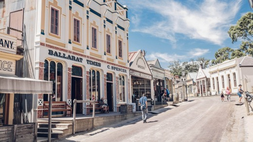 Step back in time at Sovereign Hill, Ballarat's biggest attraction.