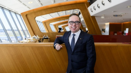 Qantas chief executive Alan Joyce indicated last year that the airline would not allow unvaccinated passengers to board.
