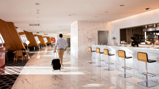 Qantas closed its international lounges in March last year due to the COVID-19 pandemic.
