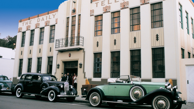 Art Deco Napier New Zealand. The Daily Telegraph building. SMH TRAVEL Photos: by Hawkes Bay Tourism