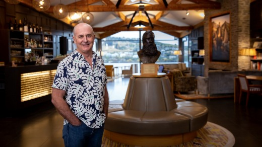 Mark Rose, chief executive of The Rees Hotel in Queenstown: 'The opening of a travel bubble with Australia is awesome news.'