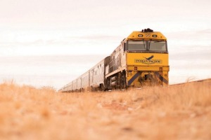 The Indian Pacific is back on track.