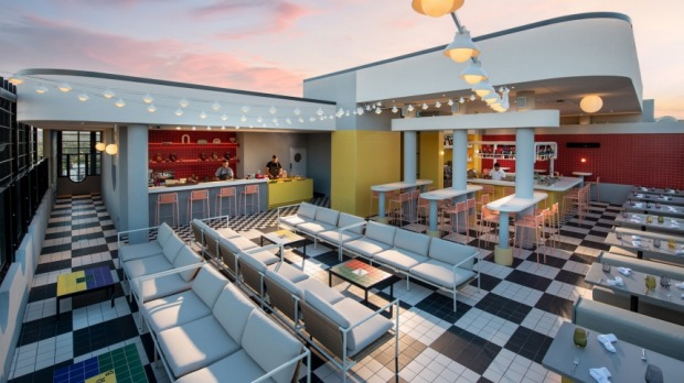'Merrymaker': Hotel Indigo's rooftop bar, and Adelaide's highest.