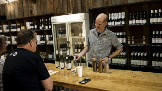 Nik Woodman at Tyrrell Wines in Pokolbin, Hunter Valley. Winemakers pour their heart and soul into their product, so ...